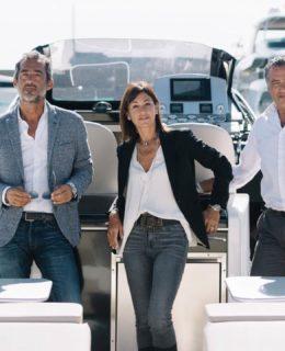 Magazzù: da sinistra Claudio, Tina e Renato