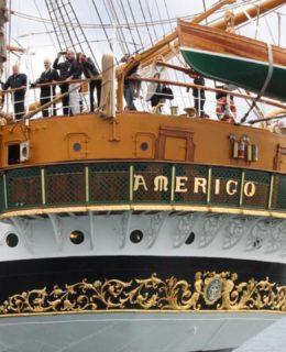 Tra Legno e Acqua: l'Amerigo Vespucci