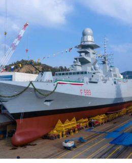 Fincantieri: la fregata Emilio Bianchi