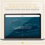 La home page del nuovo sito