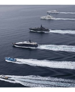 Baglietto: la flotta del Gabbiano