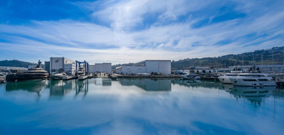 CRN: la Superyacht Yard di Ancona