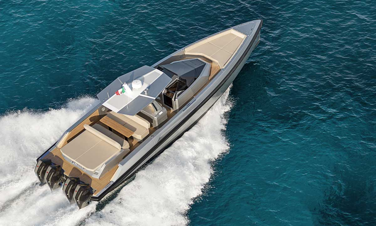 Ferretti Group: 48' Wallytender X