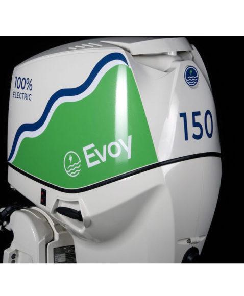 Evoy, il fuoribordo elettrico da 150 hp