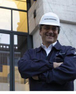 Sanlorenzo, il cavalier Massimo Perotti