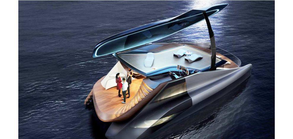 Icona Design: il catamarano elettrico