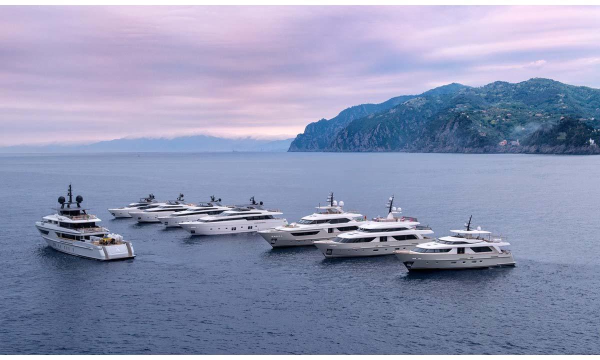 La flotta Sanlorenzo