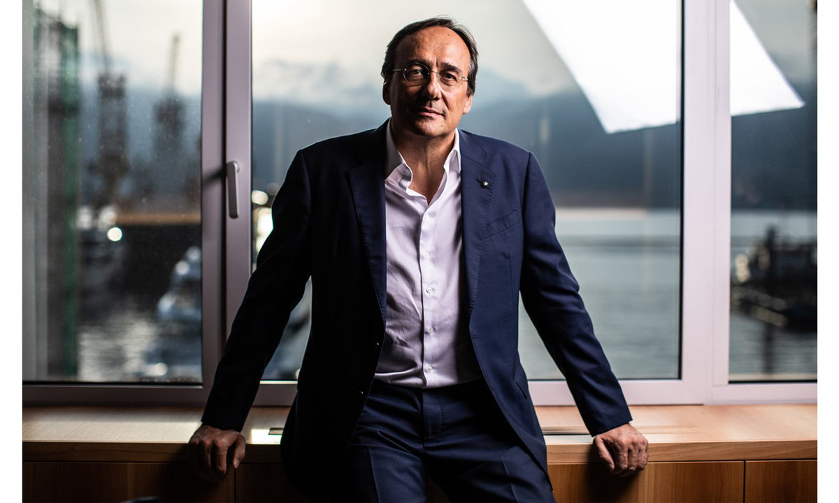 Sanlorenzo: il cavalier Massimo Perotti