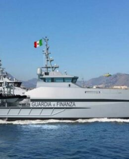 Cantere Navale Vittoria: un pattugliatore