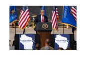 Donald Trump in visita a Fincantieri Usa