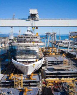 Fincantieri Monfalcone: le operazioni di varo