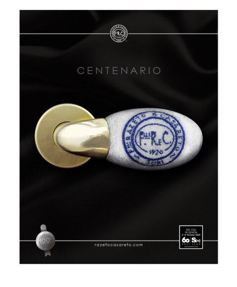 Razeto e Casareto, la maniglia Centenario