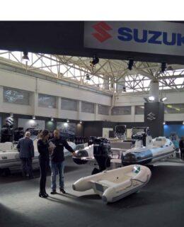 Uno degli stand Suzuki