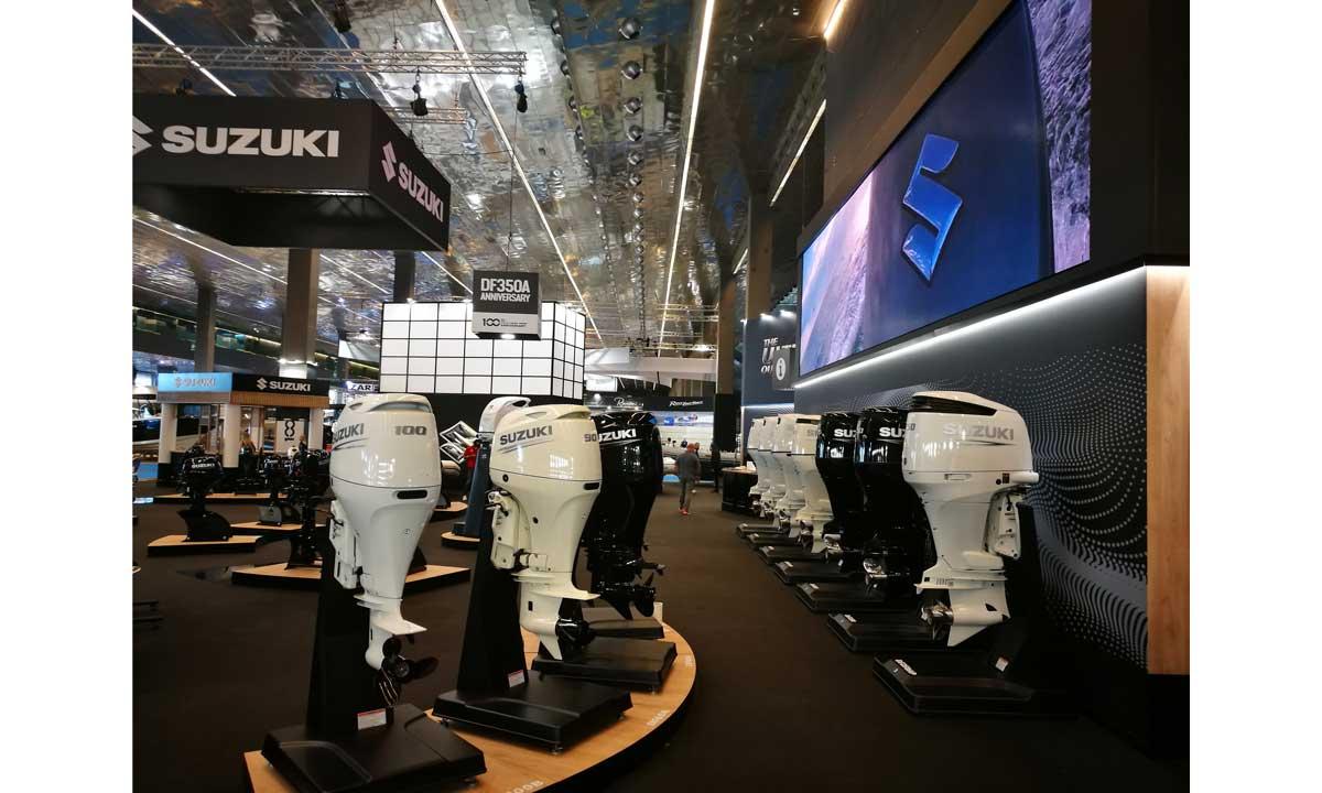Suzuki, lo stand al Salone