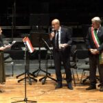 Saverio Cecchi (al centro)