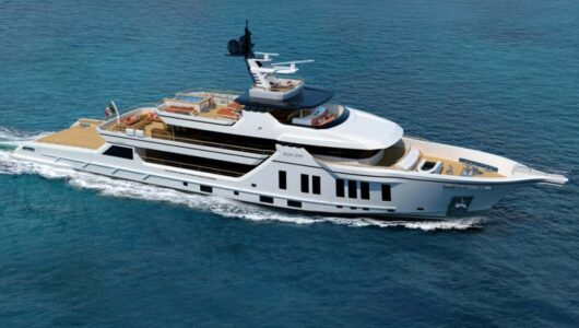 Vittoria Yacht: Bow Sprit 50 metri
