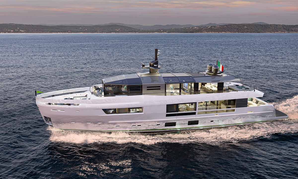 Arcadia Yachts: l'ammiraglia A115