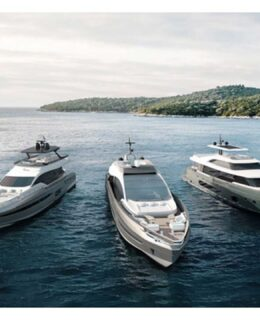 Azimut Yachts, la flotta