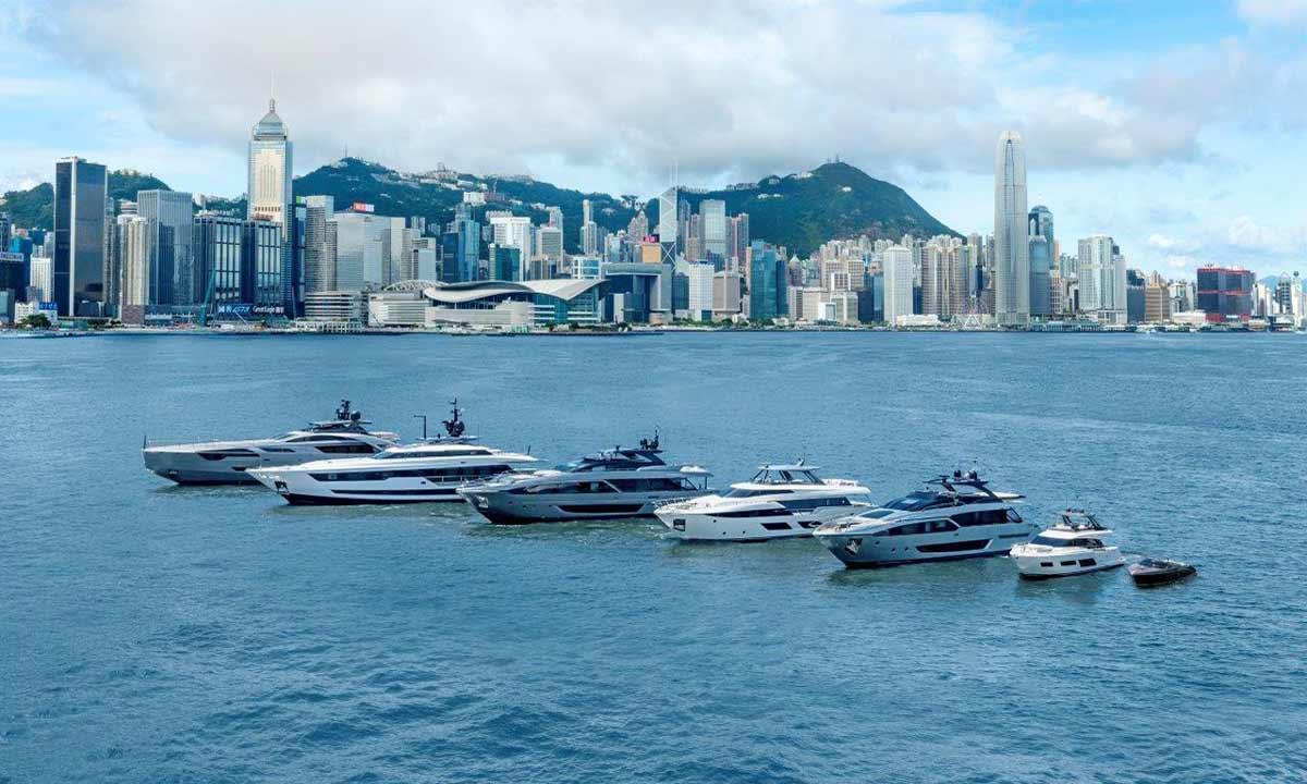 Ferretti Group, la flotta