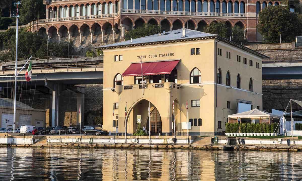 La sede dello storico Club