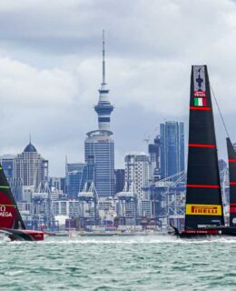 Luna Rossa e New Zealand