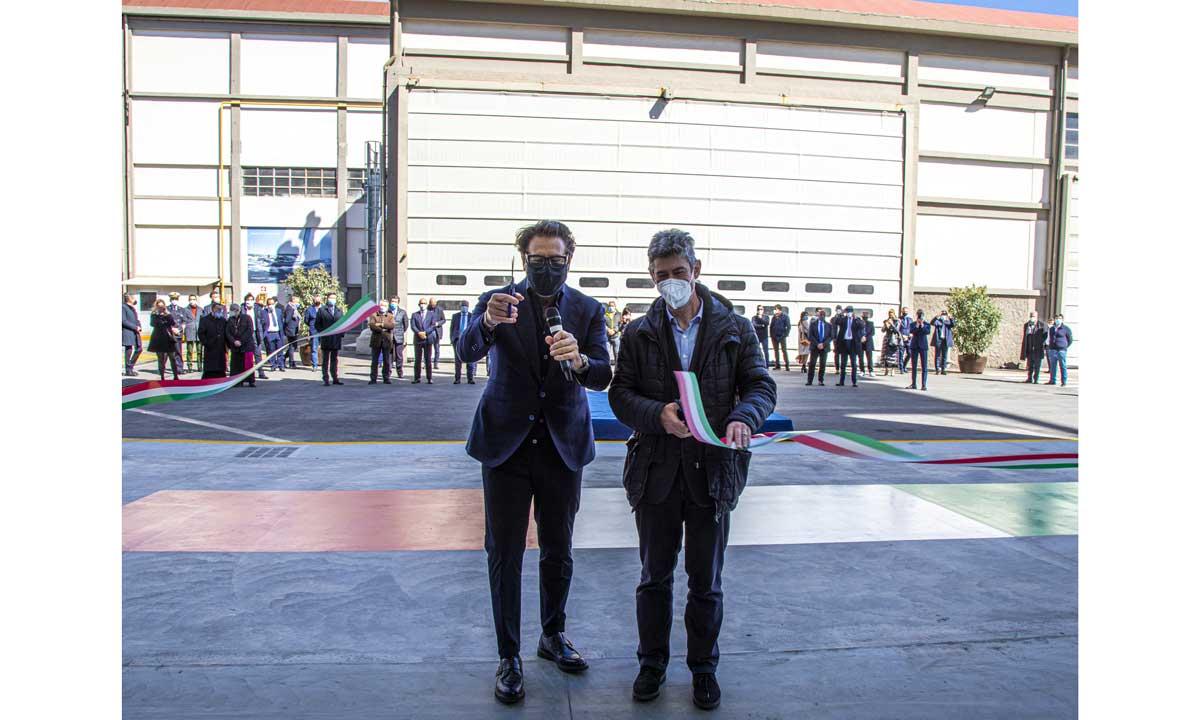 The Italian Sea Group: l'inaugurazione