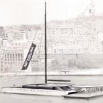 Il teaser del catamarano