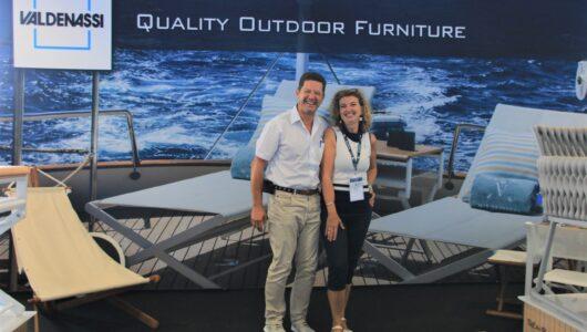 Emanuele Maria Valdenassi con la moglie Maria Grazia Ravizzotti