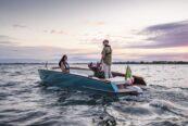 Respiro, la barca di Venmar che monta il motore elettrico Harmo di Yamaha